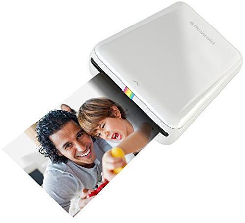 8. Polaroid ZIP Mobile Printer w/ZINK Zero Ink Printing Technology