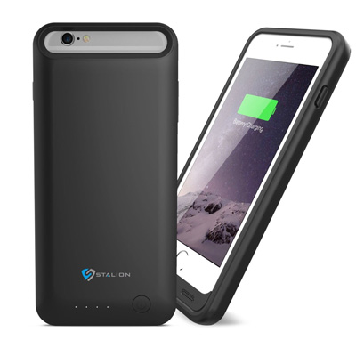 1. iPhone 6 Plus Battery Case Stalion® Stamina Rechargeable Extended Case