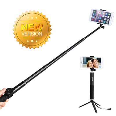 4. Levin™ Ultra Light Aluminium Selfie Stick QuickSnap Pro Self-portrait