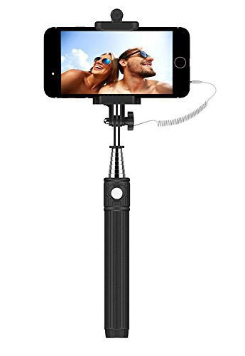 1. Selfie Stick, Flexion™ QuickSnap Pro 3-In-1 Self-portrait