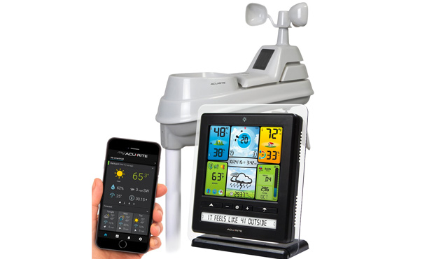 2. AcuRite 02064MA1 Pro Weather Station