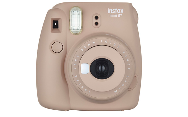 7. Fujifilm Instax Mini 8+ Instant Film Camera - International Version(Cocoa)