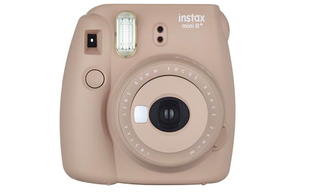 7. Fujifilm Instax Mini 8+ Instant Film Camera - International Version(Cocoa)