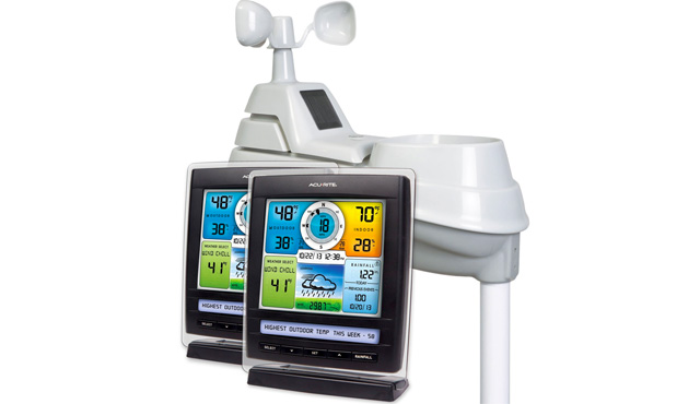 3. AcuRite 01078M Pro Color Weather Station
