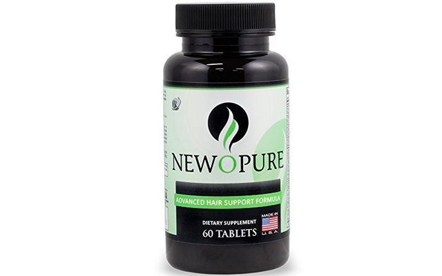 8. Newopure: Natural Hair Growth Vitamins,