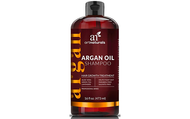 7.Art Naturals Argan Oil hair loss shampoo