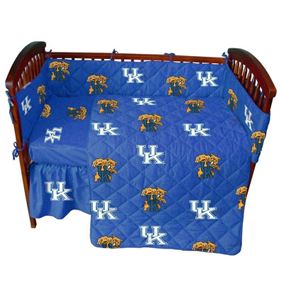 Kentucky-5-Pc-Baby-Crib-Logo-Bedding-Set