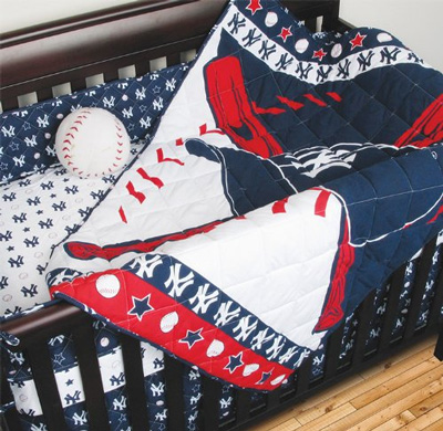 MLB-New-York-Yankees-Crib-Bedding---4pc-Baseball-Baby-Quilt-Bed-in-Bag