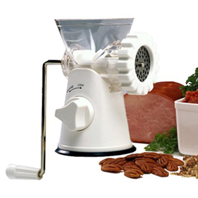 10. Norpro Meat Grinder, Mincer, and Pasta Maker