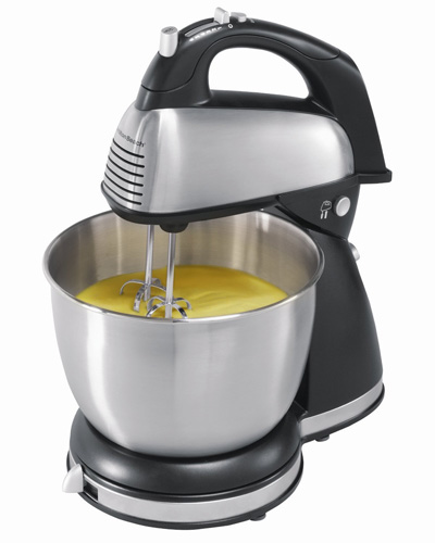 5. Hamilton Beach 64650 6-Speed Classic Stand Mixer, Stainless Steel