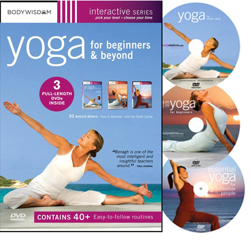 10. The Yoga for Beginners Boxed Set Directed