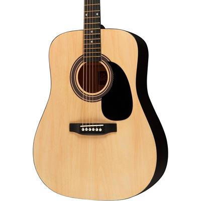 1. Rogue RA-090 Dreadnought Acoustic Guitar Natural