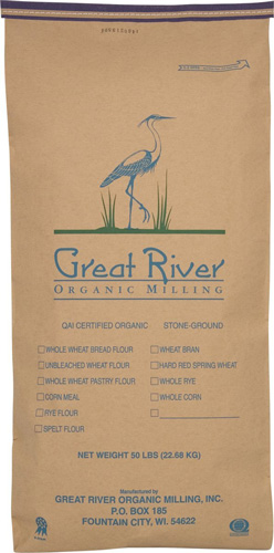 6. Great River Organic Milling Organic Whole Grains Soft White Winter Wheat