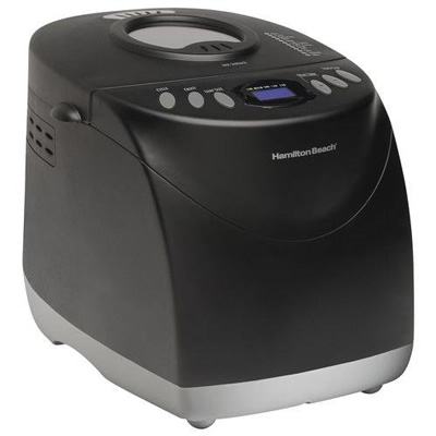 8. Hamilton Beach HomeBaker 29882 Breadmaker, Black