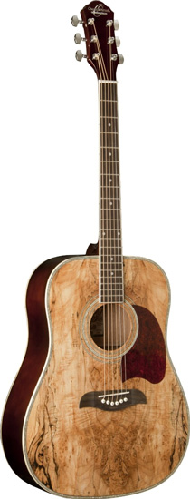 8. Oscar Schmidt OG2SM Acoustic Guitar - Spalted Maple