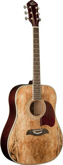 8. Oscar Schmidt OG2SM Acoustic Guitar - Spalted Maple