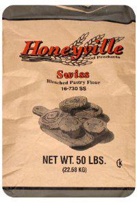 1. Swiss Pastry Flour - 50 Pound Bag