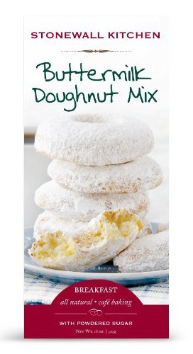 8. Stonewall Kitchen Doughnut Mix with Powdered Sugar, Buttermilk, 18 Ounce