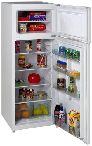 best refrigerators 2021 Avanti RA7306WT 2-Door Apartment Size Refrigerator