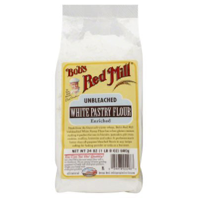 7. Bob's Red Mill Unbleached White Pastry Flour, 24 Ounce (Pack of 4)