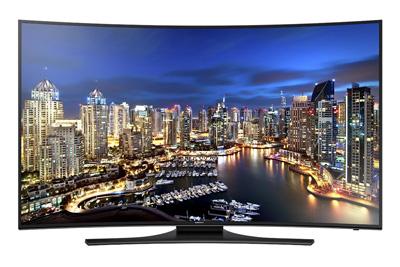 7. Samsung UN55HU7250 Curved 55-Inch 4K Ultra HD 120Hz Smart LED TV