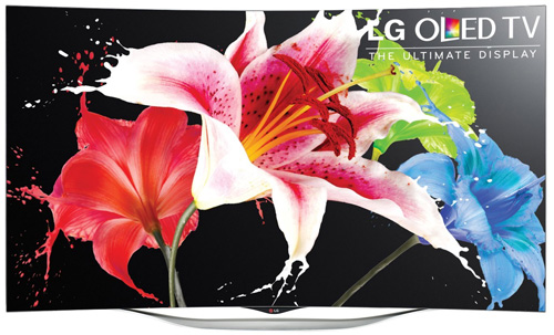 4. LG Electronics 55EC9300 55-Inch 1080p 3D Curved OLED TV