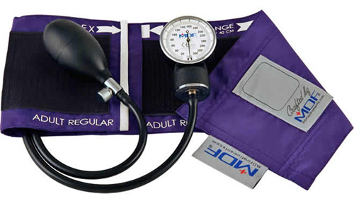 10. MDF® Calibra Aneroid Sphygmomanometer - Professional Blood Pressure Monitor with Adult Sized Cuff Included