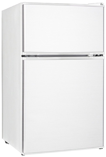 5. midea WHD-113FW1 Double Reversible Door Refrigerator and Freezer