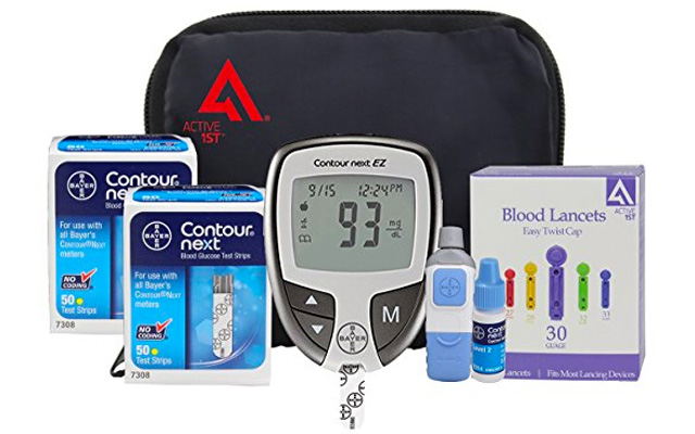 3. Active1st Bayer Contour Diabetic Testing Kit