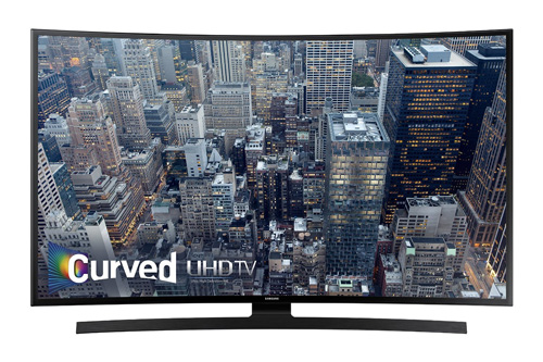 9. Samsung UN55JU6700 Curved 55-Inch 4K Ultra HD Smart LED TV