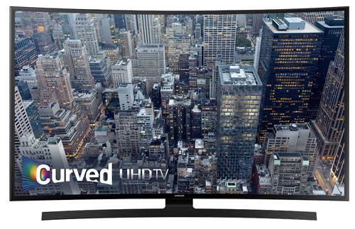 8. Samsung UN40JU6700 Curved 40-Inch 4K Ultra HD Smart LED TV