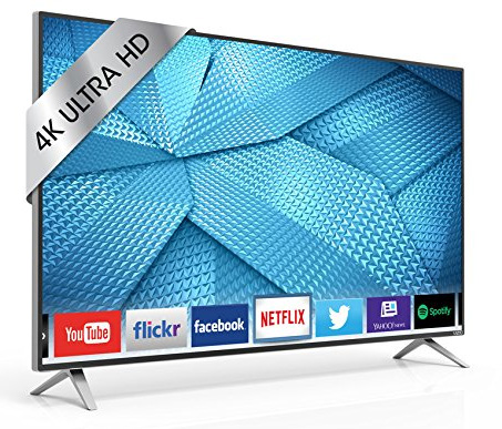 3.VIZIO M49-C1 49-Inch 4K Ultra HD Smart LED HDTV