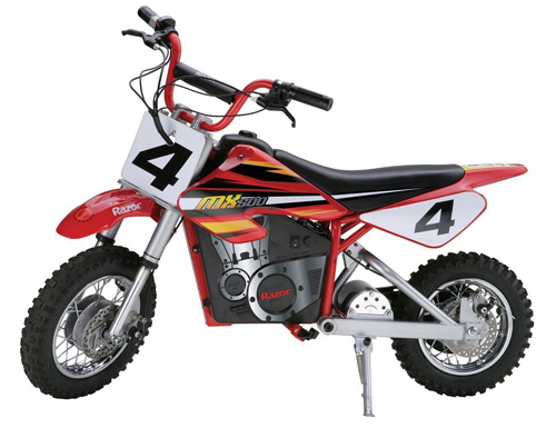 7. MX500 Dirt Rocket Electric Bike