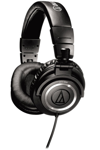 2. Audio-Technica ATH-M50 Professional Studio Monitor Headphones