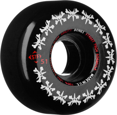 6. Bones Skateboard Wheels
