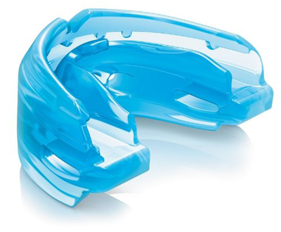 4. Strapless Double Braces Mouthguard by Shock Doctor