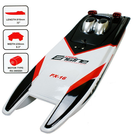9. Storm Engine PX-16 RC Boat by ThinkMax