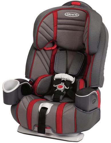 8. Graco Nautilus 3-in-1 Car Seat, Garnet
