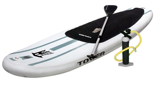 1. Tower Paddle Boards Adventurer Inflatable 9'10