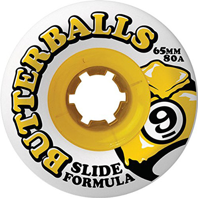 4. Sector 9 Slide Butterballs 80a 65mm Longboard Wheels