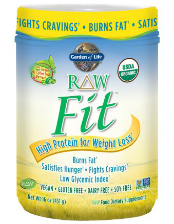 6. Garden of Life Raw Fit Protein Nutritional Supplement