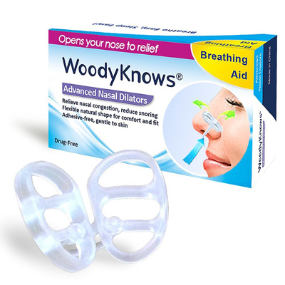 9. Invisible Nasal Strips from WoodyKnows