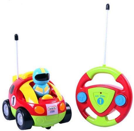 1. Cartoon R/C Race Car Radio Control by Liberty Imports