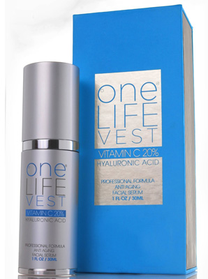 7. Professional Formula Anti-Aging Facial Serum from One Life Vest