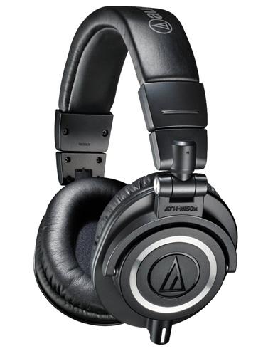 1. Audio-Technica ATH-M50x Professional Studio Monitor Headphones