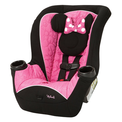 4. Disney APT Convertible Car Seat, Mouseketeer Minnie