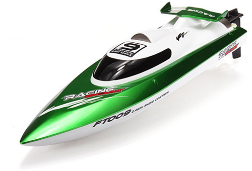 6. Remote Control 4CH High speed Racing Boat by WOPUTUO
