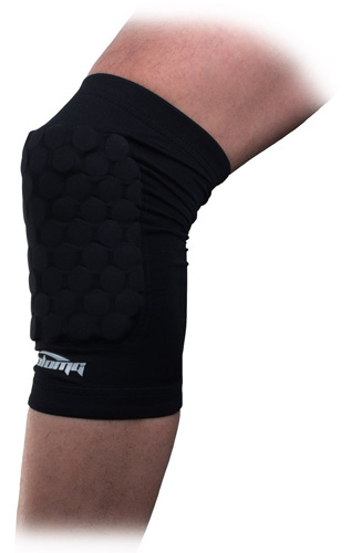 5. COOLOMG Pad Crash Proof Antislip Basketball Leg Knee Short Sleeve