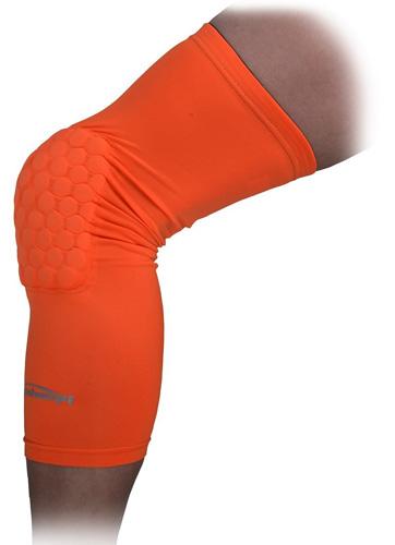 9. COOLOMG Kids Adult Pad Crash Proof Basketball Leg Knee Long Sleeve Protector Gear