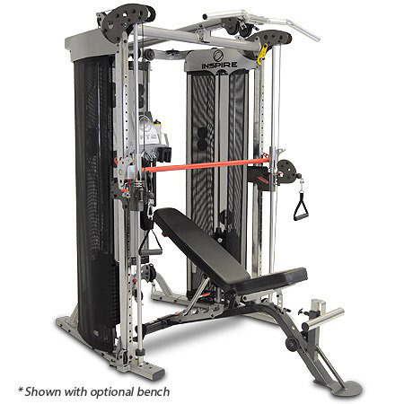 6. Inspire Fitness Ft2 Functional Trainer and Smith Station